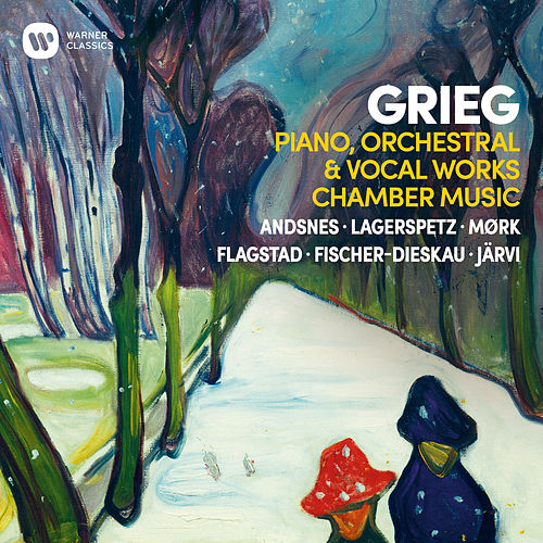Grieg: Piano, Orchestral & Vocal Works, Chamber Music von Various Artists