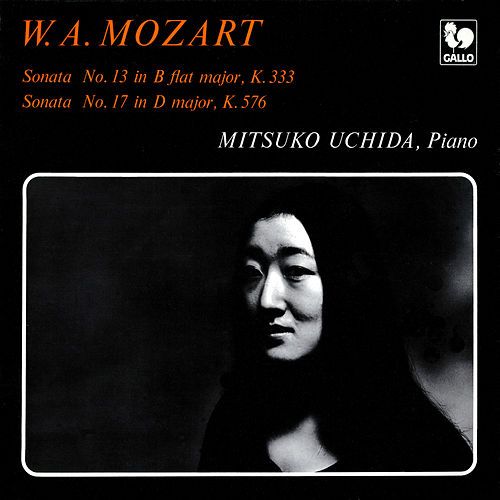 Mozart: Piano Sonata No. 13 in B-Flat Major, K. 333 - Piano Sonata No. 17 in D Major, K. 576 by Mitsuko Uchida