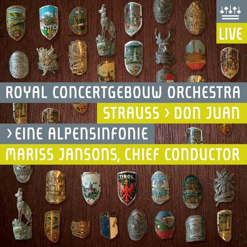 Strauss, Richard: Eine Alpensinfonie & Don Juan (Live) de Royal Concertgebouw Orchestra