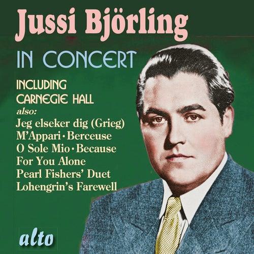 Jussi Björling in Concert de Jussi Björling