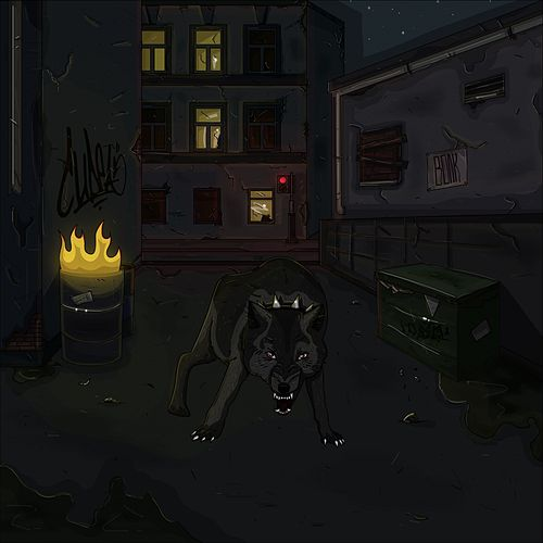 Волк by Cudea