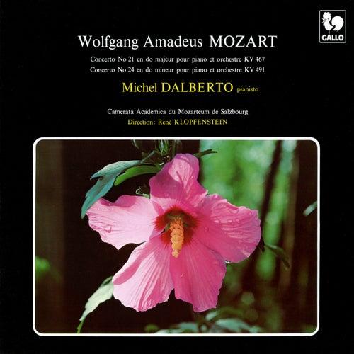 Mozart: Piano Concerto No. 21 in C Major, K. 467 - Piano Concerto No. 24 in C Minor, K. 491 by Michel Dalberto