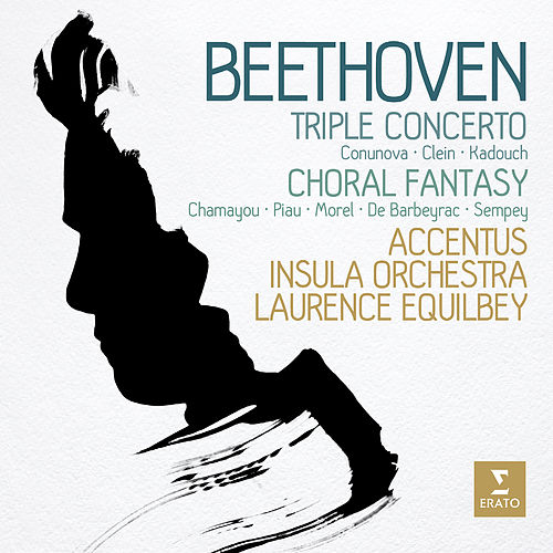 Beethoven: Triple Concerto & Choral Fantasy de Laurence Equilbey