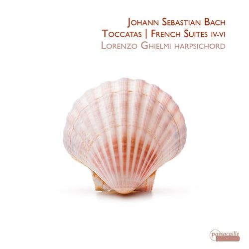 Bach Toccatas / French Suites IV- VI von Lorenzo Ghielmi