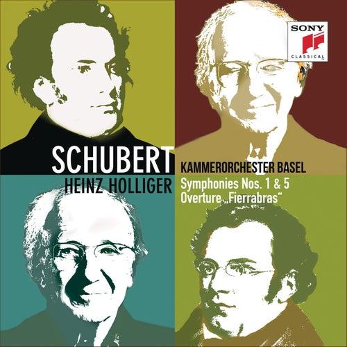Schubert: Symphonies Nos. 1 & 5, Fierrabras Overture de Kammerorchester Basel
