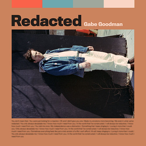 Redacted by Gabe Goodman
