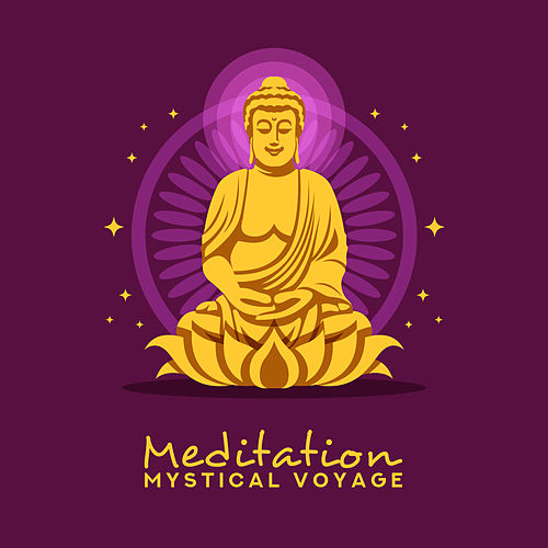 Meditation Mystical Voyage: 2019 New Age Ambient Tracks for Deep Meditation & Mind Relaxation, Inner Energy Increase, Chakra Healing by Asian Traditional Music