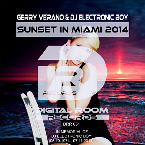 Sunset in Miami 2014 von Gerry Verano