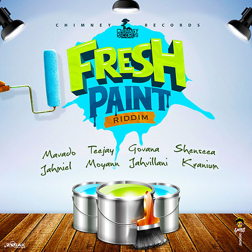 Fresh Paint Riddim by Various Artists