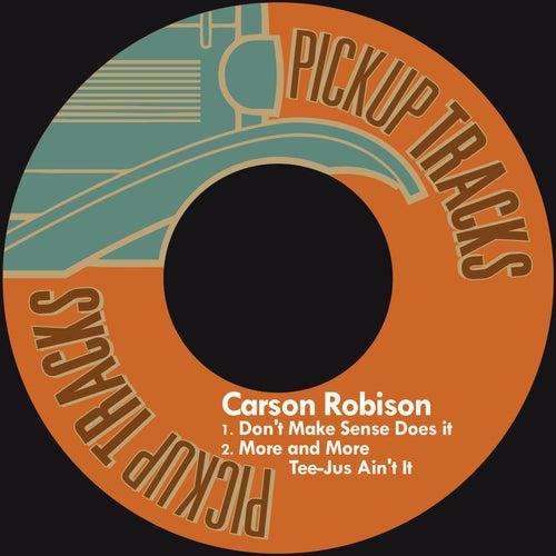 Don't Make Sense Does It von Carson Robison
