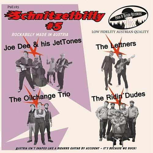Schnitzelbilly: Rockabilly Made in Austria, Vol. 5 by Various Artists