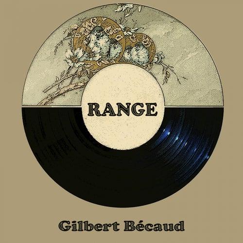 Range de Gilbert Becaud