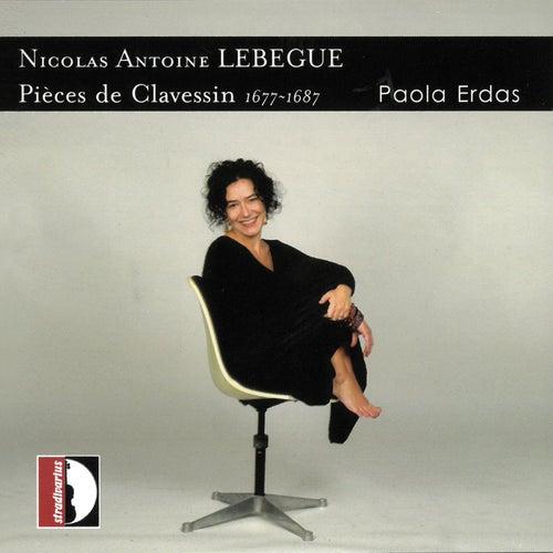 Lebègue: Pièces de clavessin de Paola Erdas