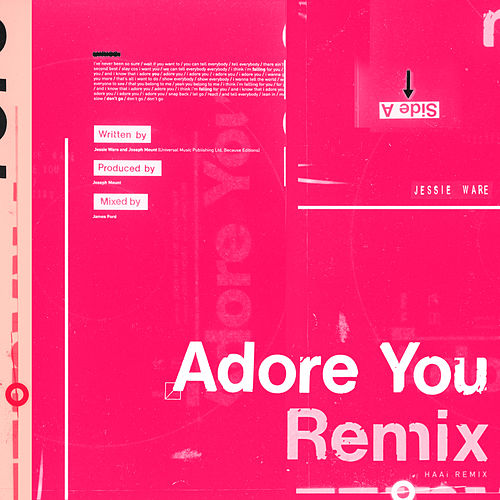 Adore You (HAAi Remix) de Jessie Ware