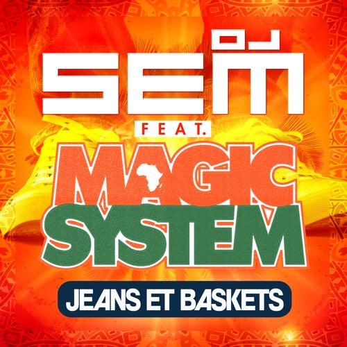 Jeans et baskets de DJ Sem