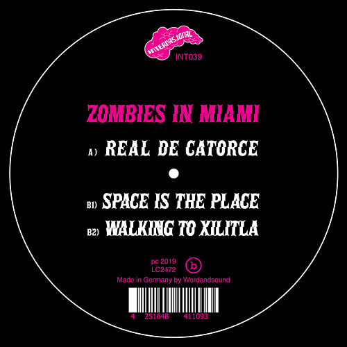 Space is the Place EP de Zombies in Miami
