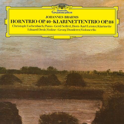 Brahms: Horntrio; Klarinettentrio by Christoph Eschenbach