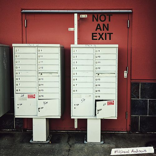 Not an Exit by Michael Andrews