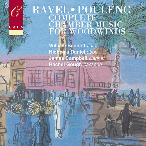 French Chamber Music for Woodwinds Volume Two: Ravel & Poulenc von Various Artists
