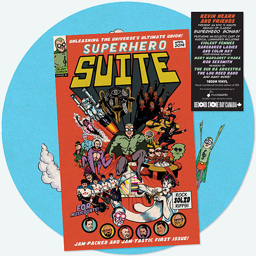 The Superhero Suite de Various Artists