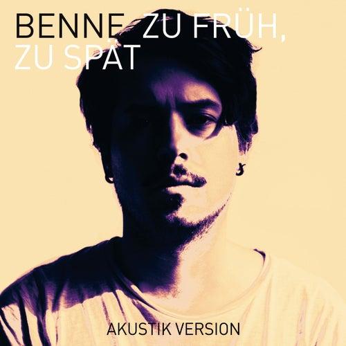 Zu früh, zu spät (Akustik Version) by Benne
