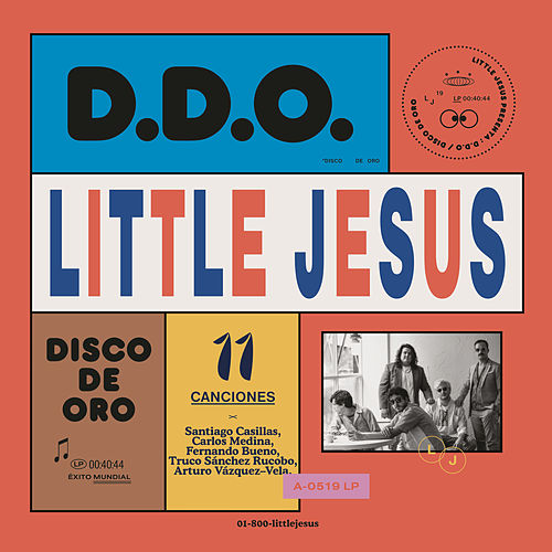 Disco de Oro de Little Jesus