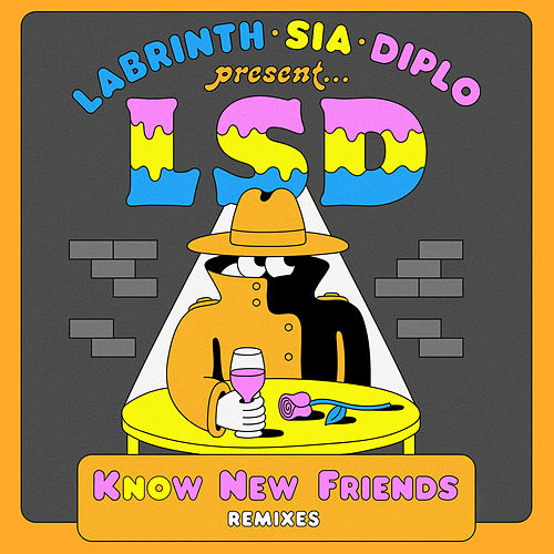 No New Friends (Remixes) von L.S.D.