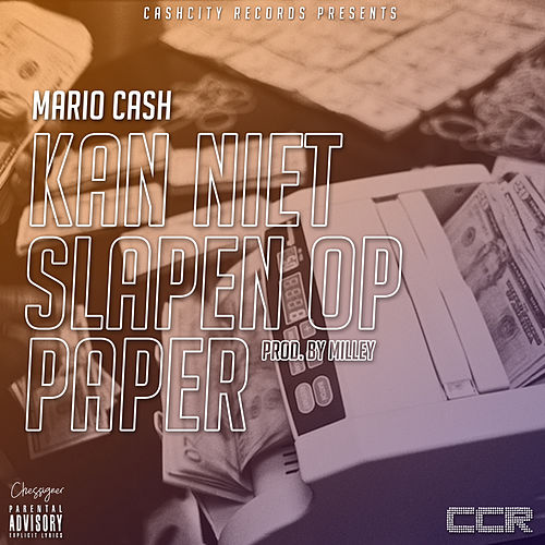 Ik Kan Niet Slapen Op Paper by Mario Cash