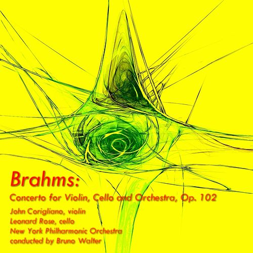 Brahms: Concerto for Violin, Cello and Orchestra, Op.102 von New York Philharmonic