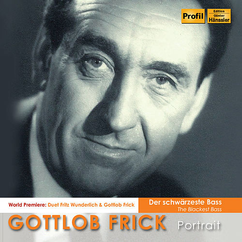 The Blackest Bass: Gottlob Frick Portrait by Various Artists