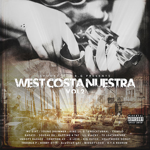 West Costa Nuestra, Vol. 2 by Various Artists