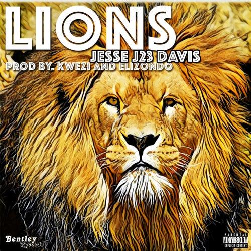 Lions de Jesse J23 Davis