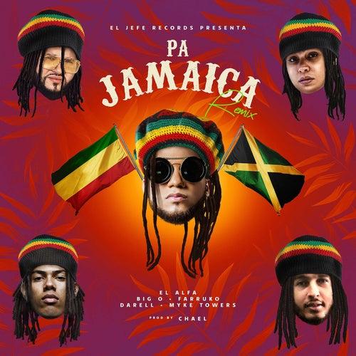 Pa Jamaica (Remix) de El Alfa, Farruko, Darell, Myke Towers