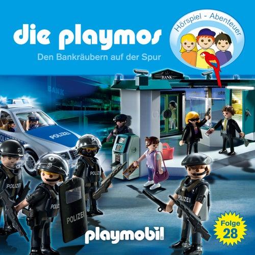 Folge 28: Den Bankräubern auf der Spur (Das Original Playmobil Hörspiel) von Die Playmos