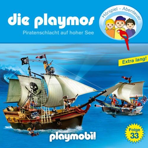 Folge 33: Piratenschlacht auf hoher See (Das Original Playmobil Hörspiel) von Die Playmos
