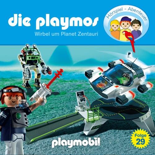 Folge 29: Wirbel um Planet Zentauri (Das Original Playmobil Hörspiel) von Die Playmos