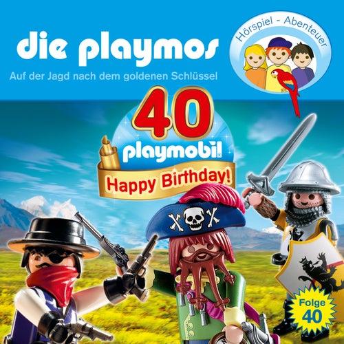 Folge 40: Auf der Jagd nach dem goldenen Schlüssel (Das Original Playmobil Hörspiel) von Die Playmos