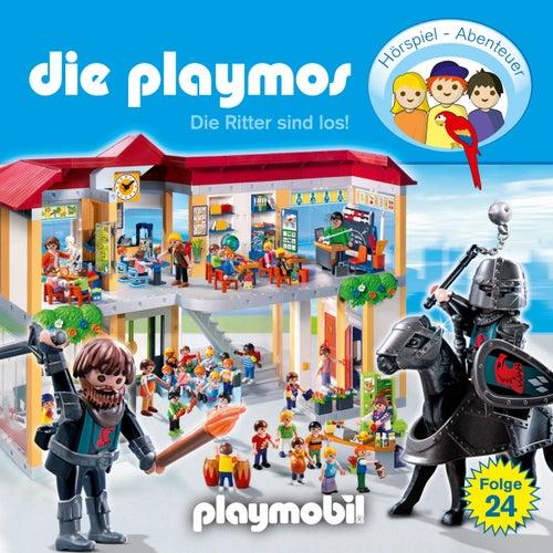 Folge 24: Die Ritter sind los! (Das Original Playmobil Hörspiel) von Die Playmos