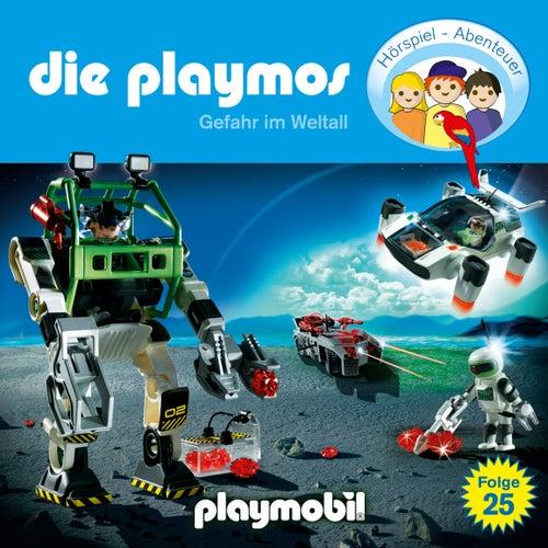 Folge 25: Gefahr im Weltall (Das Original Playmobil Hörspiel) von Die Playmos