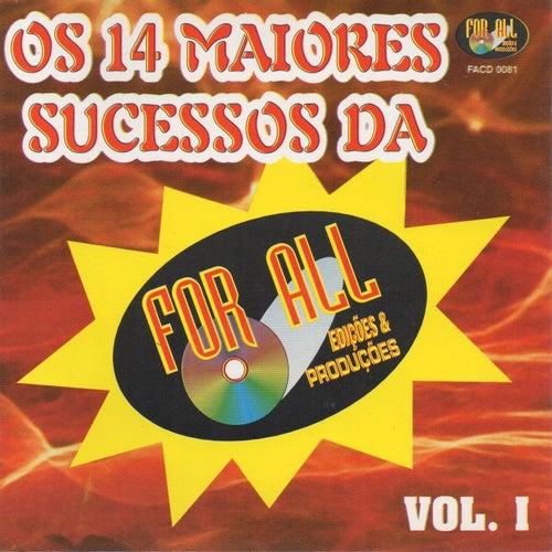 Os 14 Maiores Sucessos da For All, Vol.1 de Various Artists