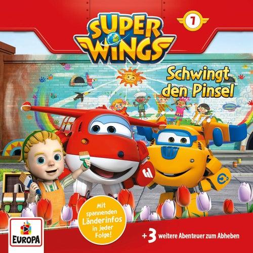 007/Schwingt die Pinsel von Super Wings