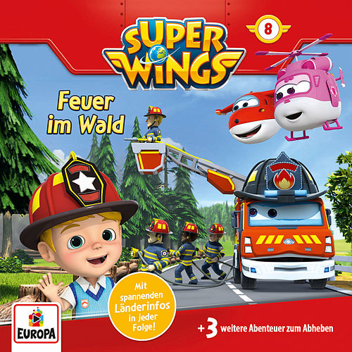008/Feuer im Wald von Super Wings