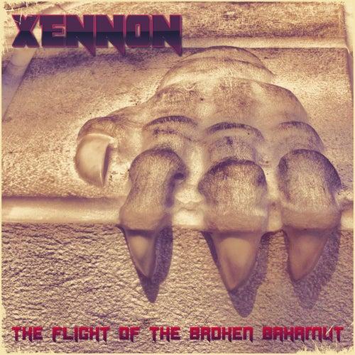 The Flight of the Broken Bahamut by Xennon
