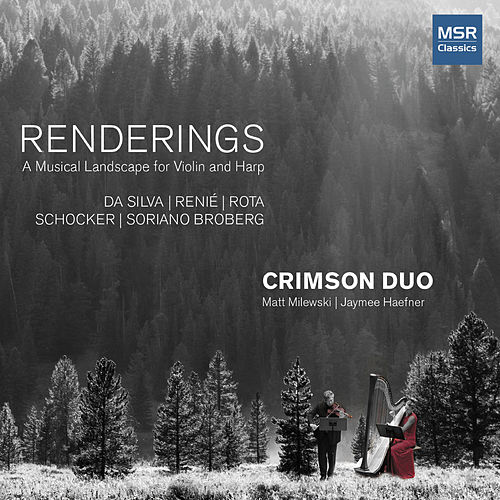 Renderings - A Musical Landscape for Violin and Harp de Crimson Duo