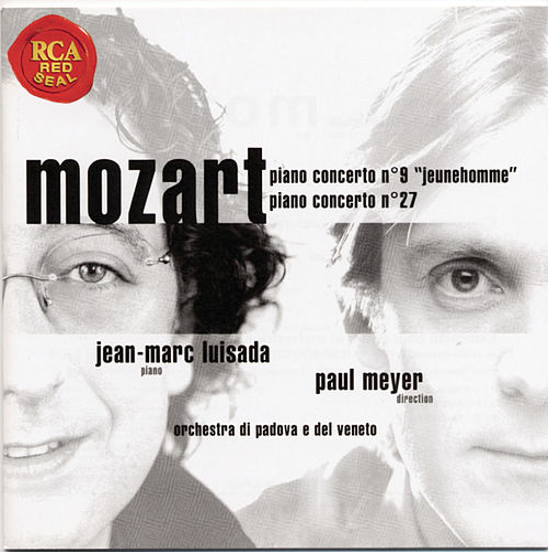 Mozart: Piano Concerto No. 9 & No. 27 by Jean-Marc Luisada