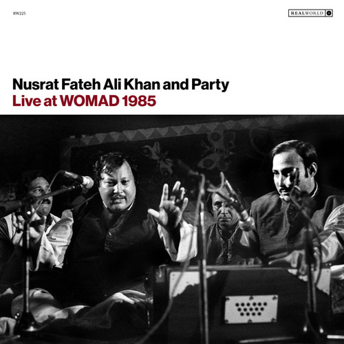 Live at WOMAD 1985 von Nusrat Fateh Ali Khan