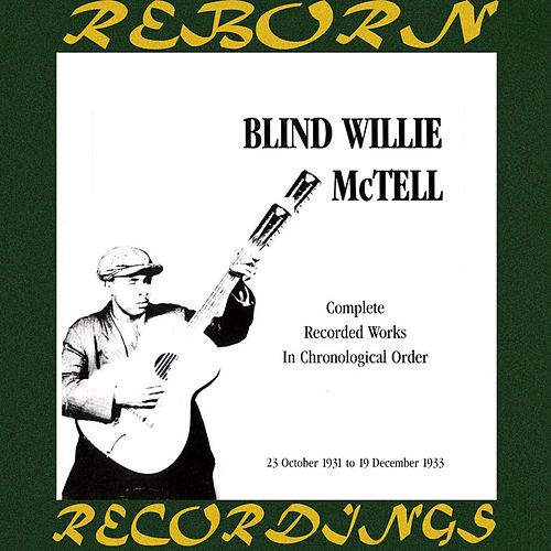 Complete Recorded Works, Vol. 2 (1931-1933) (HD Remastered) by Blind Willie McTell