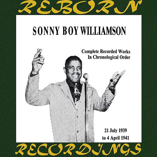 Complete Recorded Works, Vol. 3 (1939-1941) (HD Remastered) by Sonny Boy Williamson I