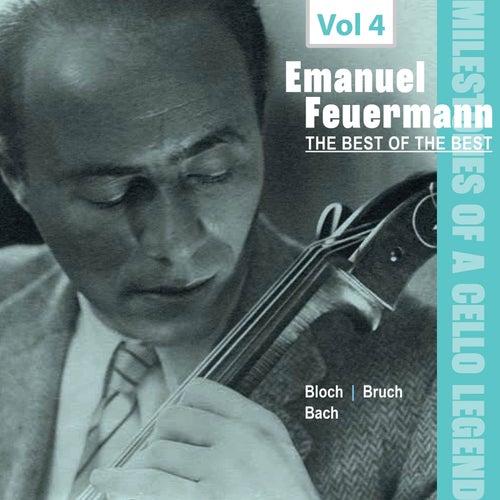 Milestones of a Cello Legend: The Best of the Best - Emanuel Feuermann, Vol. 4 von Emanuel Feuermann