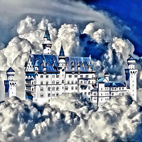 Castles in the Sky by Fraser Martin